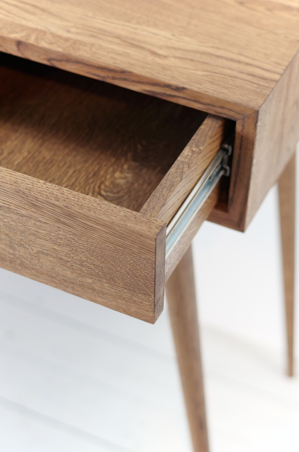 Solid Oak dressing/console table, NO-06Grey