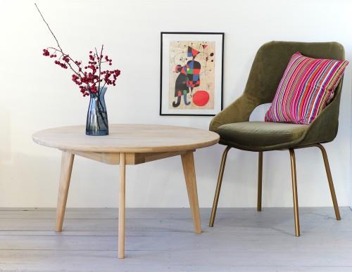 VIKI Round 80 coffee table