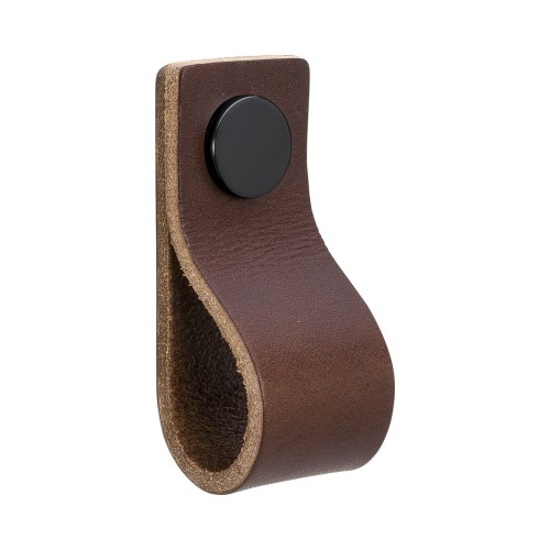 Handle LOOP 333134-11 leather brown