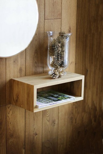 Solid Oak Wood Shelf, NO-05-EN