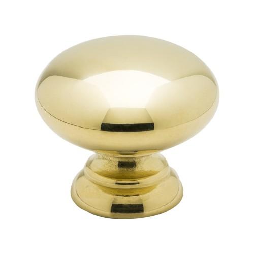 Handle 411-391141 Polished brass