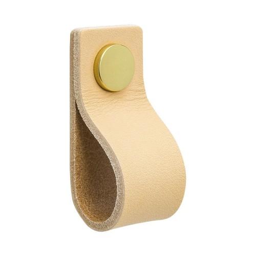 Handle LOOP 333141-11 leather light
