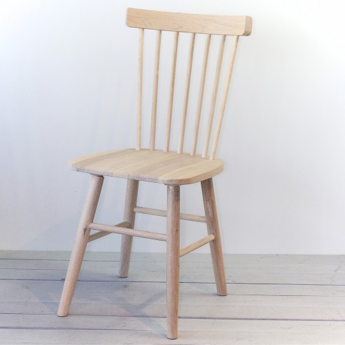SCAND chair oak white oiled