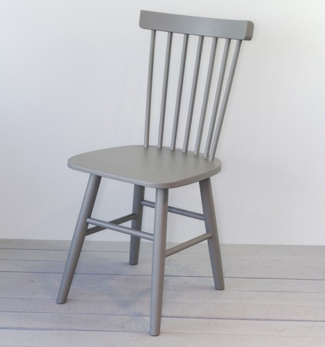 SCAND grey birch chair