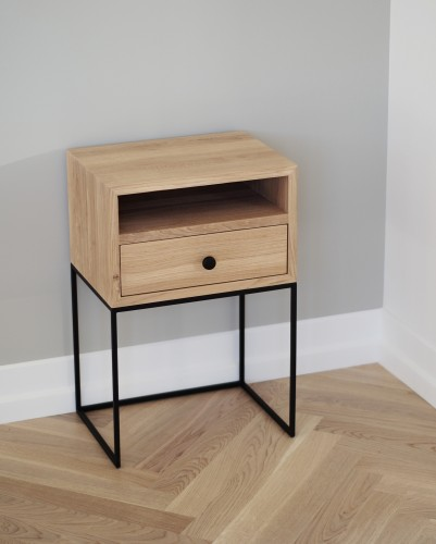 Tall modern bedside, NORD-ID-03 LIVING-K2