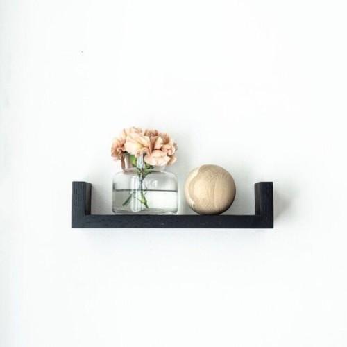 Wall shelf- natural oak GR30